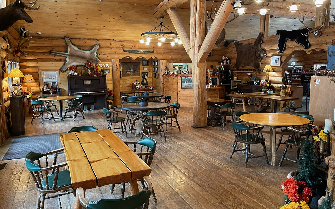 Lochsa Lodge Interior