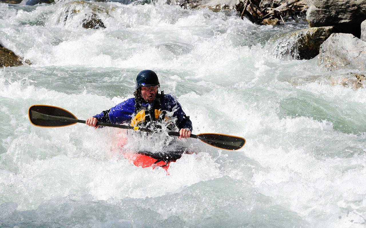 Kayaking the Lochsa River