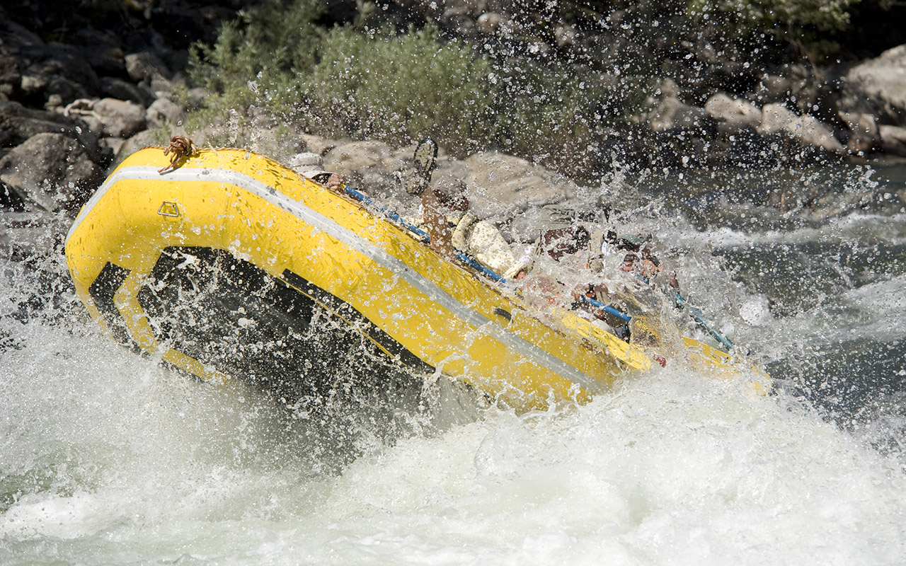 Whitewater Rafting on the Lochsa River